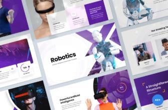 Robotics – Artificial intelligence Keynote Presentation Template