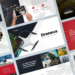 Droneva – Drone Aerial Photography Google Slides Presentation Template