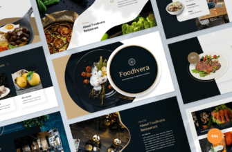 Foodivera – Food and Beverages Google Slides Presentation Template