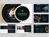 Food and Beverages Presentation About Us Slide