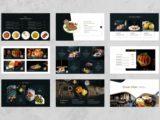 Food and Beverages Presentation Menu Slide