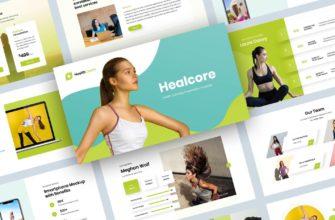 Healcore – Health Coaching Keynote Presentation Templates