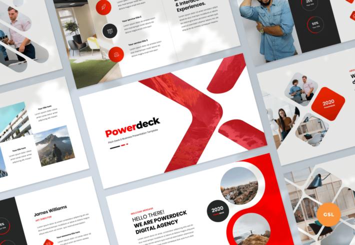 Powerdeck – Pitch Deck and Business Google Slides Presentation Template