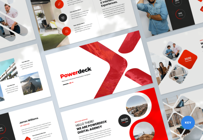 Powerdeck – Pitch Deck and Business Keynote Presentation Template
