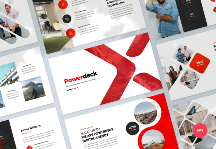 Powerdeck – Pitch Deck and Business PowerPoint Presentation Template