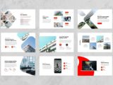 Pitch Deck and Business Presentation Mockup Slide