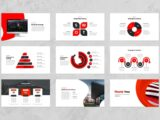 Pitch Deck and Business Presentation Thank You Slide